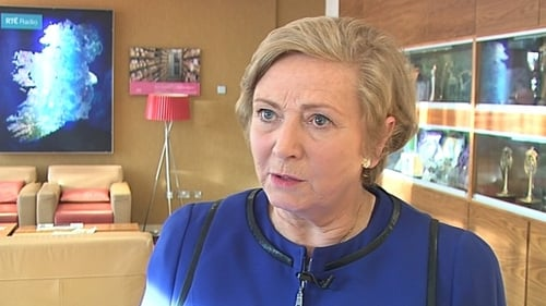 Frances Fitzgerald said there is a lot of contact and information exchanged with police and intelligence forces internationally