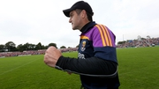 Dunne took over as Wexford manager in 2012