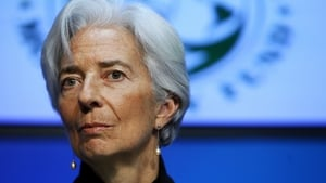 IMF chief Christine Lagarde warns of patchy growth next year