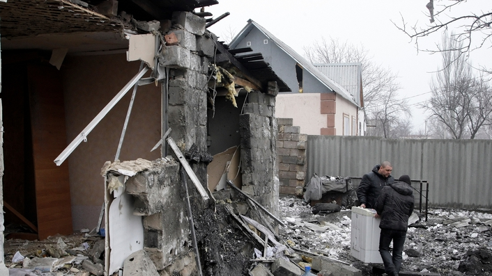 Ukrainian forces struggle as fighting flares