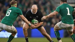 Ben Franks in action against Ireland in 2013