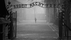 The huge Auschwitz camp was built near the southern Polish town of Oswiecim, about 90 minutes' drive from the city of Krakow