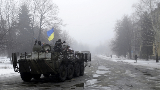 Ukraine, Russia, France and Germany issued a joint call to end fighting in the east