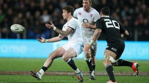 Danny Cipriani will provide cover for fly-half George Ford