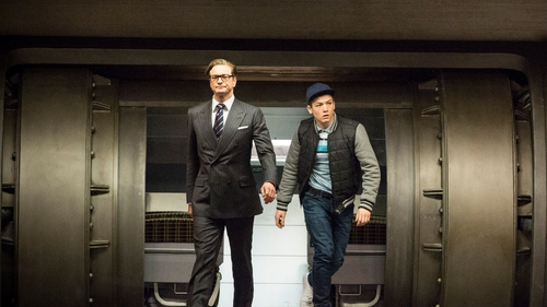 Colin Firth brings buckets of fun to his role as a kick-ass spy