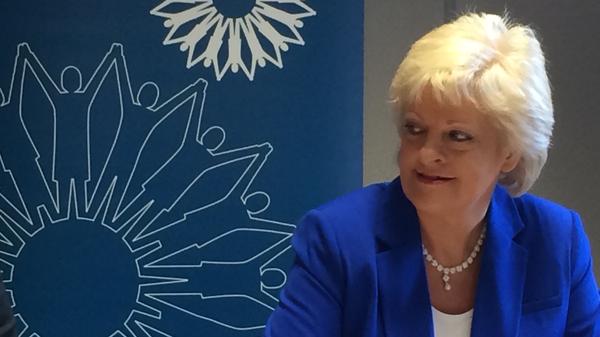 Patricia King, general secretary, Irish Congress of Trade Unions