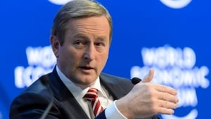 Taoiseach Enda Kenny has not missed Davos since taking office