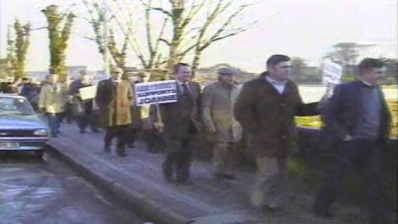 Picket at Kerry Babies Tribunal