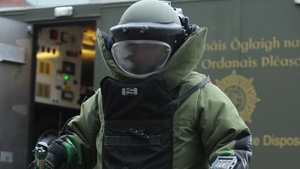 Gardaí requested support from the bomb disposal team