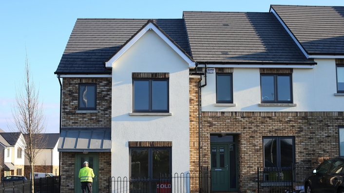 Rise in house prices outside Dublin
