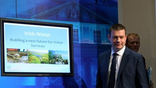 The revised water charges were assessed as part of a review of Ireland's progress after the bailout