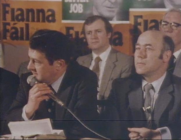 Des O'Malley (left)