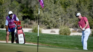 Marc Warren holds a share of the lead at the Qatar Masters