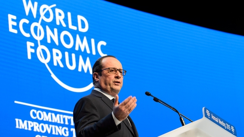 Francois Hollande said he wants businesses to help ensure that 'sources of financing for terrorists' dry up'
