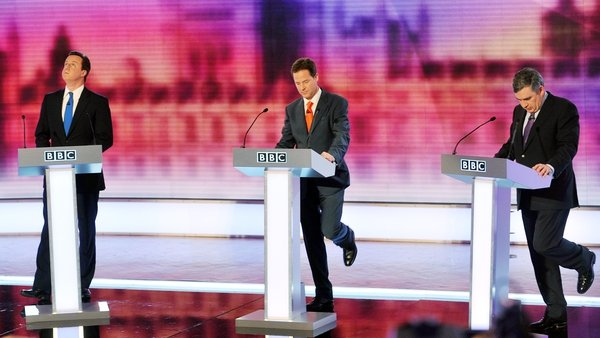 The debates were first staged in Britain in the 2010 general election campaign