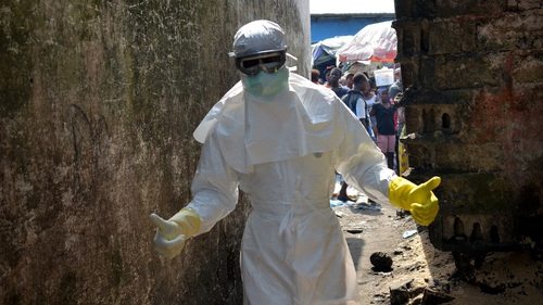 The WHO said the spread of the Ebola virus has slowed to a crawl
