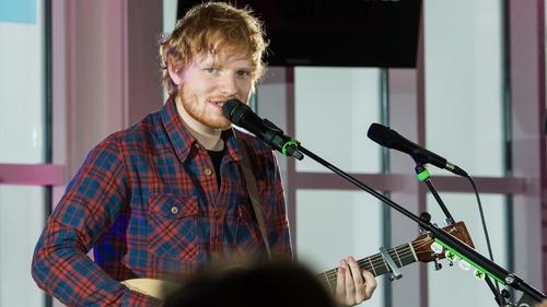 Ed Sheeran and Sam Smith top the Zzzzzzzz parade