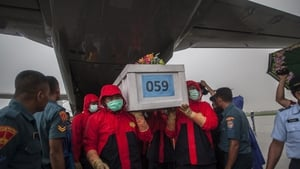 Almost 100 bodies have yet to be recovered from the crashed AirAsia jet