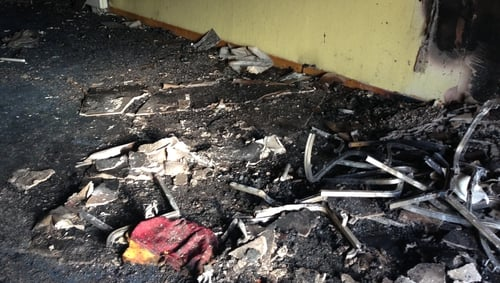 Gardaí are investigating the arson attacks