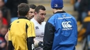Dave Kearney injured his shoulder during Saturday's draw against Wasps