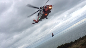 Howth Coast Guard Cliff Rescue team and the Coast Guard Helicopter Rescue 116 were tasked during the incident