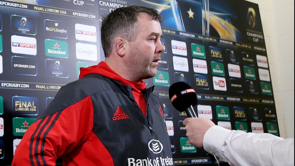 Anthony Foley says the victory was 'bittersweet'