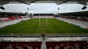 Kingspan Stadium's capacity was recently upgraded to 18,000