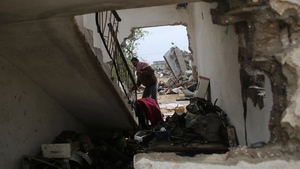 Thousands of homes in Gaza were destroyed during the conflict