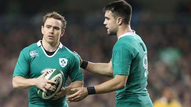 Conor Murray & Eoin Reddan will be fit for Ireland