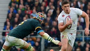 Owen Farrell was expected to start on the bench for England