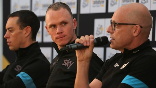 Dave Brailsford (right)