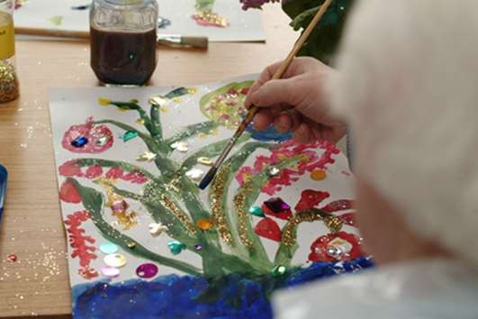 Tallaght Hospital, therapy and the arts