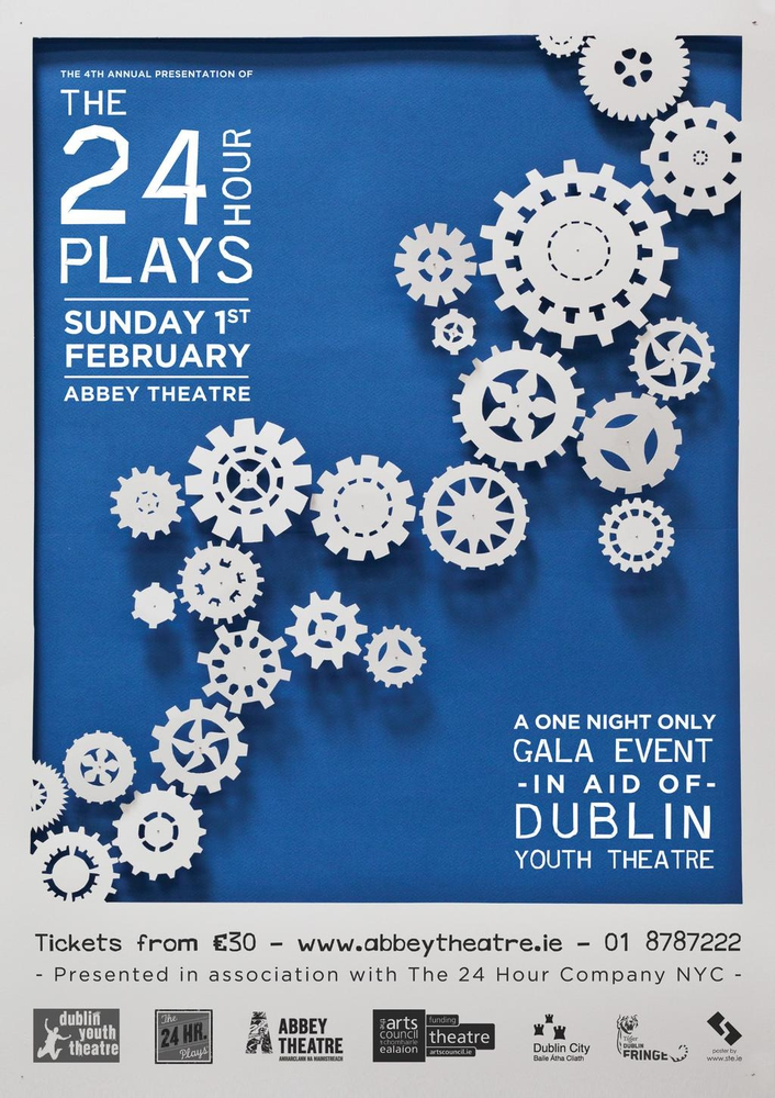 24 Hour Plays at the Abbey Theatre