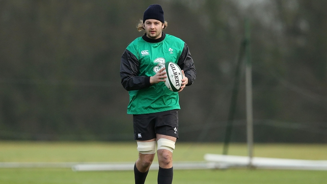 Iain Henderson hoping for Wolfhounds springboard