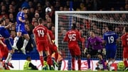 Chelsea's Branislav Ivanovic breaks the deadlock in extra time
