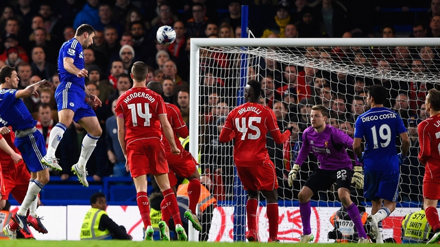 Branislav Ivanovic header sends Chelsea into final