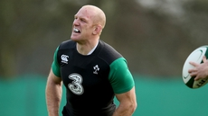 Paul O'Connell in Ireland training this week