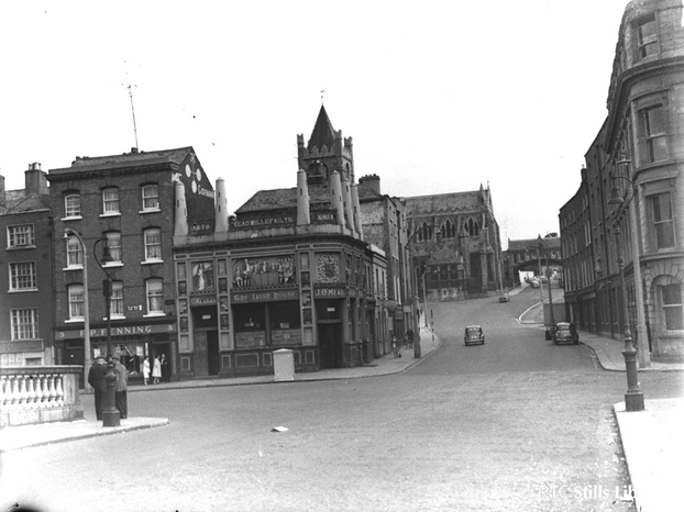 Wood Quay (circa 1950)