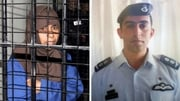 IS called for the release of Sajida al-Rishawi (L) in exchange for air force pilot Muath al-Kasaesbeh (R)