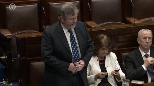 Minister for Children James Reilly unveiled the draft Adoption Information and Tracing legislation this afternoon