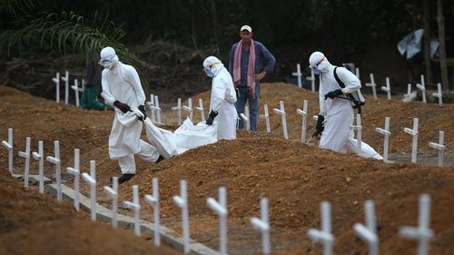 The Ebola epidemic infected more than 28,600 people and killed around 11,300 before coming under control last year