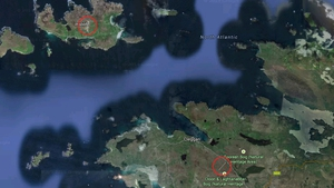 The airstrips were built to help develop the community on Inishbofin (pic: Google Maps)