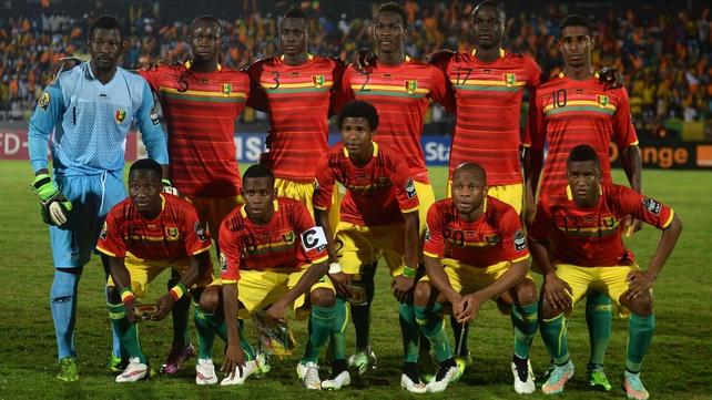 Guinea handed quarter-final place