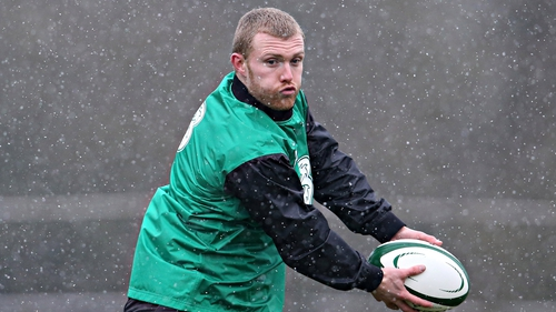 Keith Earls said he was just glad to be injury-free