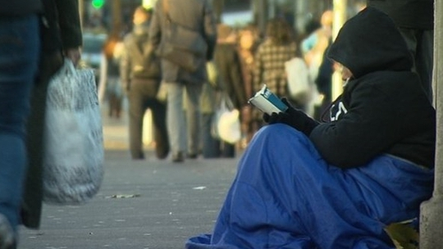 More than one family a day became homeless in Dublin last year