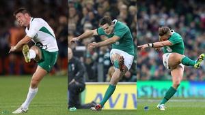 Ronan O'Gara, Jonathan Sexton and Ian Madigan all know the pressures of kicking