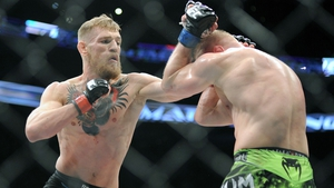Conor McGregor beat Denis Siver two weeks ago to set up his title shot