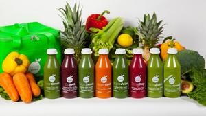 Pure Green's gorgeous juice range