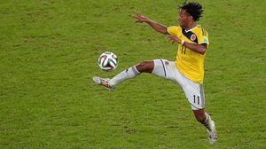 Juan Cuadrado starred for Colombia in the 2014 World Cup
