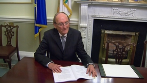 Seán Barrett said that the decision he took was not influenced by any letter from Alan Shatter